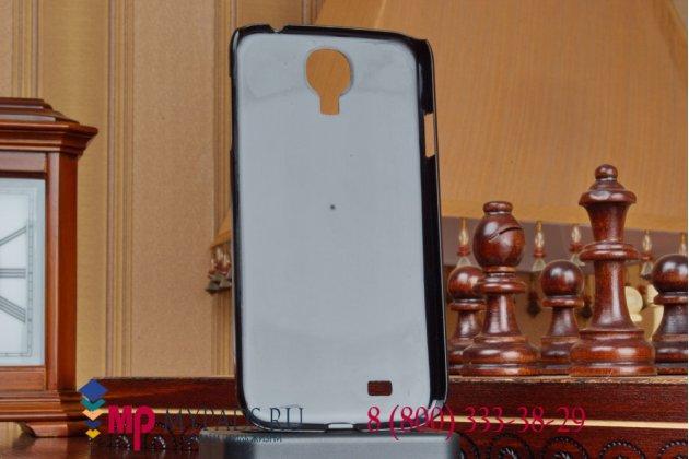 """Задняя панель-крышка из тончайшего и прочного пластика для Samsung Galaxy S4 i9500 """"ретро Британский флаг"""""""