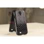 Задняя панель-крышка из тончайшего и прочного пластика для Samsung Galaxy S4 i9500 змея черный..