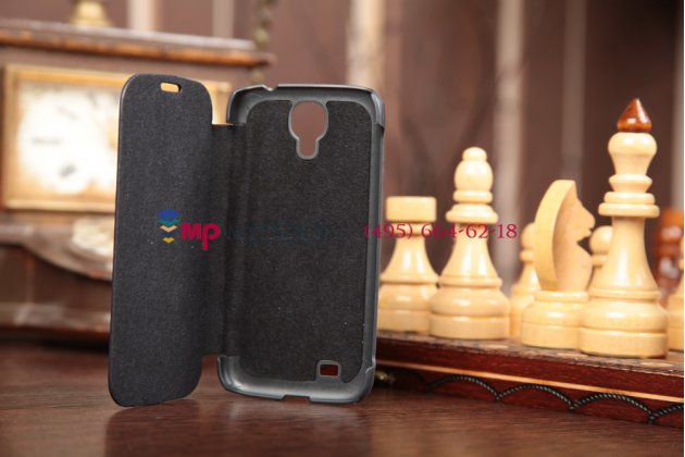 Чехол Flip-cover для Samsung Galaxy S4 GT-i9500/i9505 черный