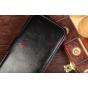Чехол-книжка для Samsung Galaxy S4 GT-i9500 черный кожаный