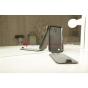 Чехол-флип для Samsung Galaxy S4 Mini GT-i9190/i9192/i9195 черный кожаный..