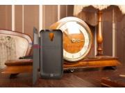 Чехол-книжка с окошком со встроенной усиленной мощной батарей-аккумулятором большой повышенной расширенной ёмк..
