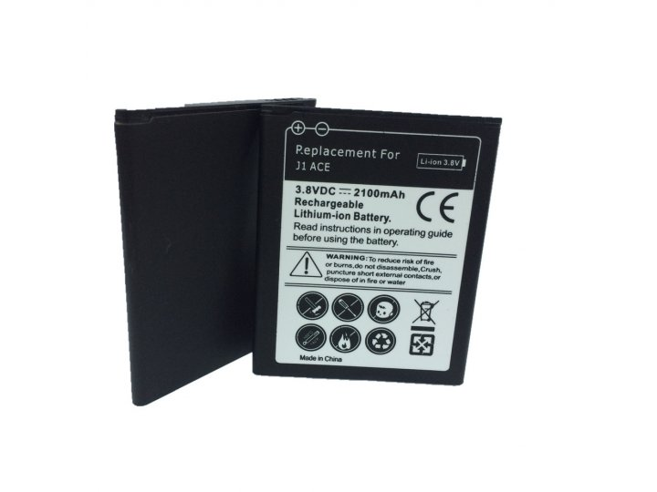 Фирменная аккумуляторная батарея 2100 mAh на телефон Samsung Galaxy J1 Ace Neo SM-J111F + гарантия..