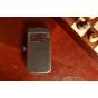 Чехол-книжка для Samsung Galaxy S4 Zoom SM-C101 черный кожаный..