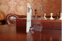 Чехол-книжка для Samsung Galaxy S4 Zoom SM-C101 черный кожаный