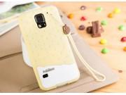 Фирменная необычная уникальная полимерная мягкая задняя панель-чехол-накладка для  Samsung Galaxy S5 SM-G900H/..