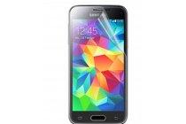 Фирменная оригинальная защитная пленка для телефона Samsung Galaxy S5 SM-G900H/G900Fглянцевая