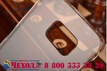 Фирменная ультра-тонкая пластиковая задняя панель-чехол-накладка для Samsung Galaxy S6 Edge прозрачная