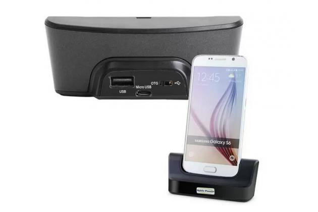 Фирменное оригинальное USB-зарядное устройство/док-станция для телефона Samsung Galaxy S6 Edge