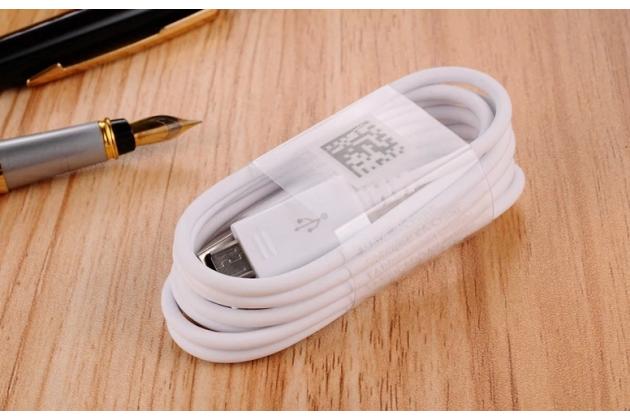 Фирменный оригинальный USB дата-кабель для телефона Samsung Galaxy S6 Edge + гарантия