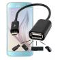 Фирменный оригинальный USB-переходник для смартфона Samsung Galaxy S6 Edge..