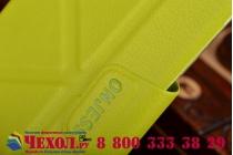 """Фирменный чехол Smart Case с многофункциональной подставкой """"Оригами"""" для Samsung Galaxy S6 зеленый пластиковый"""