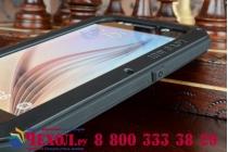 Неубиваемый водостойкий противоударный водонепроницаемый грязестойкий влагозащитный ударопрочный фирменный чехол-бампер для Samsung Galaxy S6 SM-G920F цельно-металлический со стеклом Gorilla Glass