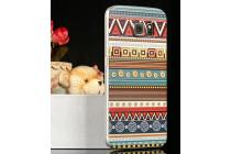 Фирменная роскошная задняя панель-чехол-накладка с безумно красивым расписным эклектичным узором на Samsung Galaxy S6