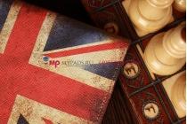 "Чехол для Samsung Galaxy Tab 2 7.0 P3100 ""тематика британский флаг"" кожаный"