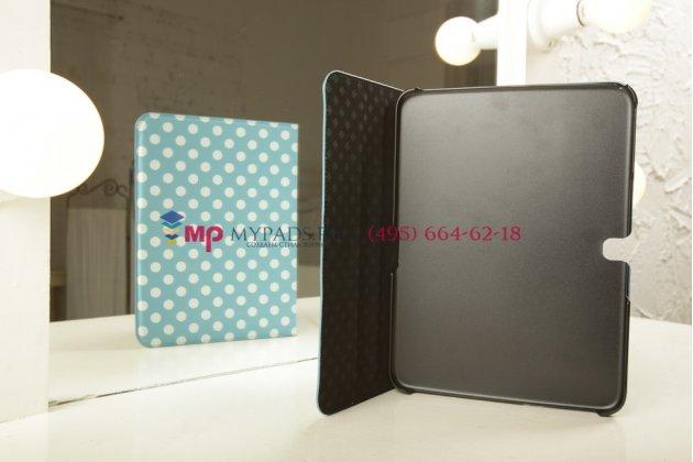 Чехол для Samsung Galaxy Tab 3 10.1 GT-P5200/P5210 бело-голубой далматинец