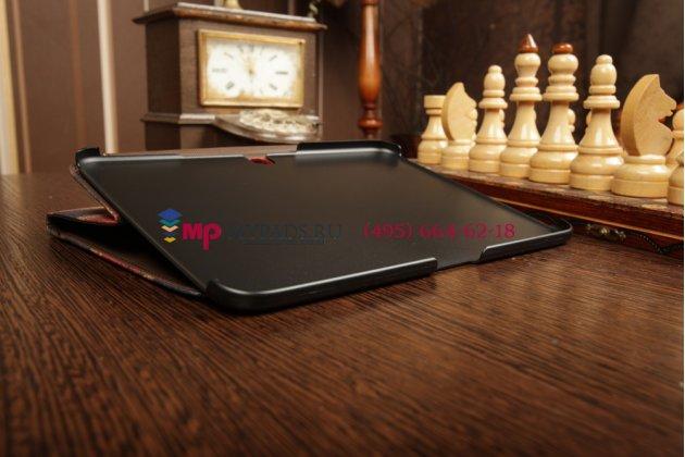 """Фирменный чехол для Samsung Galaxy Tab 3 10.1 GT-P5200/P5210 """"тематика ретро Британский флаг"""""""
