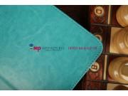 Чехол-обложка для Samsung Galaxy Tab 3 10.1 GT-P5200/P5210 бирюзовый кожаный..