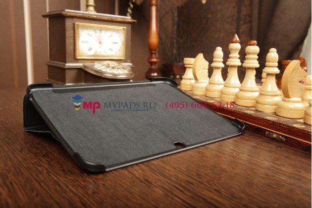 """Чехол с логотипом для Samsung Galaxy Tab 3 10.1 GT-P5200/P5210 с дизайном """"Book Cover"""" черный"""