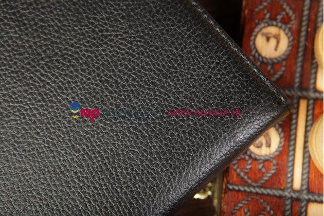 Чехол для Samsung Galaxy Tab 3 10.1 P5200/P5210 поворотный черный кожаный