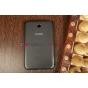 """Чехол с логотипом для Samsung Galaxy Tab 3 7.0 SM-T2100/T2110 с дизайном """"Book Cover"""" черный"""