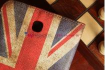 "Чехол для Samsung Galaxy Tab 3 7.0 SM-T210/T211 ""тематика ретро Британский флаг"""