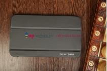 """Чехол с логотипом для Samsung Galaxy Tab 3 8.0 SM-T310/T311/T315 с дизайном """"Book Cover"""" черный"""