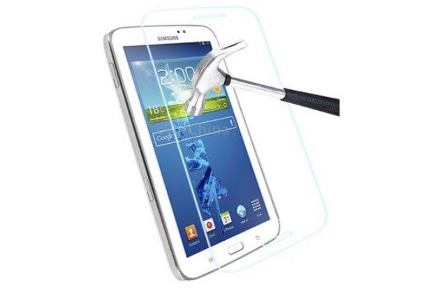 Фирменное защитное закалённое противоударное стекло премиум-класса из качественного японского материала с олеофобным покрытием для Samsung Galaxy tab 3 8.0 SM T310/T311/T315