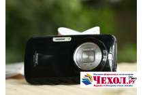 Фирменная ультра-тонкая полимерная из мягкого качественного силикона задняя панель-чехол-накладка для Samsung Galaxy K Zoom SM-C115 / C1116 черная
