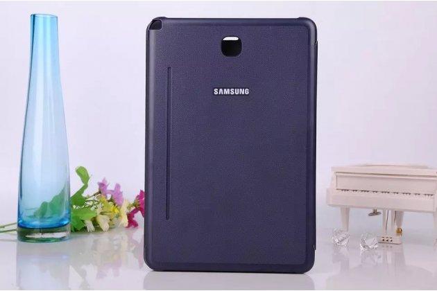 Фирменный оригинальный чехол с логотипом для Samsung Galaxy Tab A 8.0 SM-T350/T351/T355 Simple Cover синий