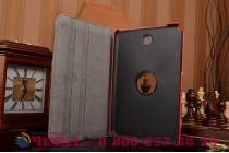 "Фирменный чехол роторный для Samsung Galaxy Tab A 9.7 SM-T550/T555 ""тематика ретро Британский флаг"""