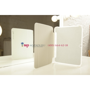 """Чехол с логотипом для Samsung Galaxy Tab 3 10.1 GT-P5200/P5210 с дизайном """"Book Cover"""" белый"""