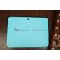 """Чехол с логотипом для Samsung Galaxy Tab 3 10.1 GT-P5200/P5210 с дизайном """"Book Cover"""" голубой"""