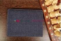 Чехол для Samsung Galaxy Tab 3 10.1 GT-P5200/P5210 джинсовый синий