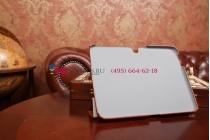 """Фирменный чехол сегментарный для Samsung Galaxy Tab 3 10.1 GT-P5200/P5210/P5220 SLIM коричневый """"Luxury"""" натуральная кожа Италия"""