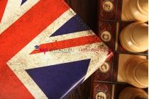 "Фирменный роторный чехол для Samsung Galaxy Note 10.1 2014 edition ""тематика ретро Британский флаг"""