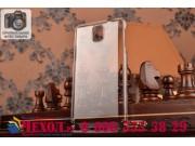 Фирменная ультра-тонкая пластиковая задняя панель-чехол-накладка для Samsung Galaxy Note 3 прозрачная..