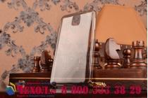 Фирменная ультра-тонкая полимерная из мягкого качественного силикона задняя панель-чехол-накладка для Samsung Galaxy Note 3 черная