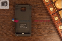 Чехол со встроенной усиленной мощной батарей-аккумулятором большой повышенной расширенной ёмкости 2200mAh для Samsung Galaxy S 2 GT-I9100 черный + гарантия