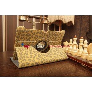 Чехол для Samsung Galaxy Tab 2 10.1 GT-P5100/P5110 леопардовый коричневый