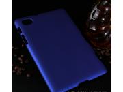 Фирменная задняя панель-крышка-накладка из тончайшего и прочного пластика для Samsung 7.7 P6800 синяя..