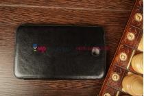 Ультра-тонкий легкий чехол-футляр для Samsung Galaxy Tab 3 7.0 SM-T210/T211 SLIM черный