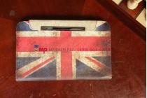 """Чехол для Samsung Galaxy Tab 3 8.0 SM-T310/T311/T315 """"тематика ретро Британский флаг"""""""