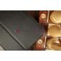 """Чехол-обложка для Samsung Galaxy tab 3 8.0 T310/T311 черный """"Prestige"""" натуральная кожа Италия"""