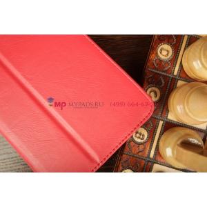 """Чехол-обложка для Samsung Galaxy Tab 3 7.0 T210/T211 красный кожаный натуральная кожа """"Prestige"""" Италия"""