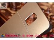 Фирменная металлическая задняя панель-крышка-накладка из тончайшего облегченного авиационного алюминия для Sam..
