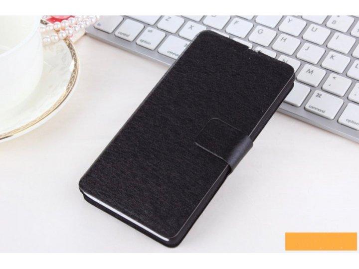 Фирменный чехол-книжка с подставкой для Samsung Star Deluxe Duos GT-S5292/Rex 90 черный..