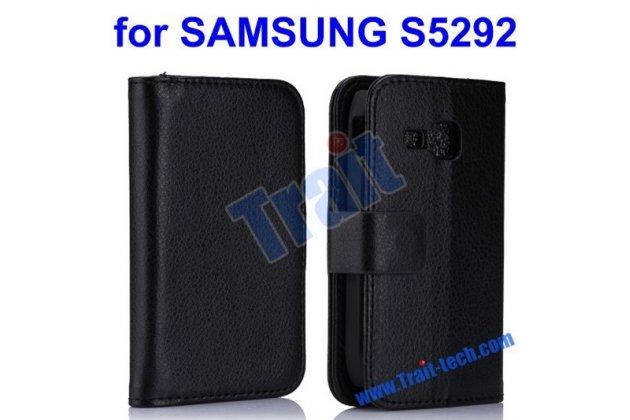 Фирменная защитная пленка для телефона Samsung Star Deluxe Duos GT-S5292/Rex 90 глянцевая