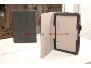Фирменный чехол-футляр для Samsung Galaxy Note 10.1 2014 edition SM-P600/P601/P605 с визитницей и держателем д..