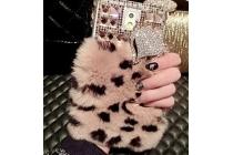 Фирменная роскошная элитная пластиковая задняя панель-накладка украшенная стразами кристалликами и декорированная элементами для Samsung Galaxy Note 4 леопардовый